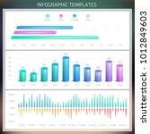 vector infographic design... | Shutterstock .eps vector #1012849603