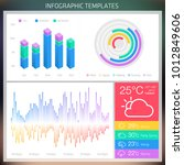 vector infographic design...