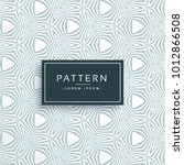 abstract line stylish pattern... | Shutterstock .eps vector #1012866508