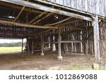 a view of the rafters and... | Shutterstock . vector #1012869088