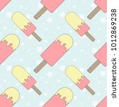 color seamless pattern of... | Shutterstock .eps vector #1012869238