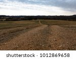 dirt road leading through a... | Shutterstock . vector #1012869658