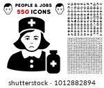 pitiful apothecary lady... | Shutterstock .eps vector #1012882894