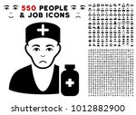 pitiful apothecary doctor... | Shutterstock .eps vector #1012882900