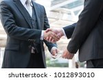 unidentified business people... | Shutterstock . vector #1012893010