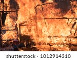 fire disaster building | Shutterstock . vector #1012914310