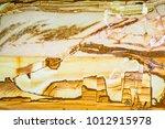 mineral design  macro closeup... | Shutterstock . vector #1012915978