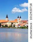czech republic  telc  may 8 ... | Shutterstock . vector #1012920718