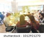 blurred image of university... | Shutterstock . vector #1012921270