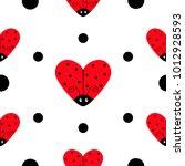 Ladybug Ladybird Icon Set....