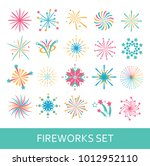 vector icon set of salute.... | Shutterstock .eps vector #1012952110