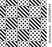 vector seamless pattern.... | Shutterstock .eps vector #1012968544