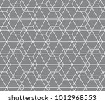 vector seamless pattern.... | Shutterstock .eps vector #1012968553