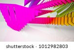 abstract white and colored... | Shutterstock . vector #1012982803