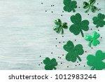 saint patricks day background... | Shutterstock . vector #1012983244