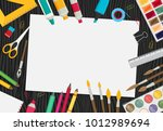 colored flat design vector... | Shutterstock .eps vector #1012989694