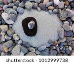 Big Sea Pebble Stone Or Rock...