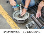maintenance technician repair... | Shutterstock . vector #1013002543