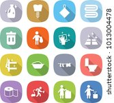 flat vector icon set   cleanser ... | Shutterstock .eps vector #1013004478