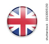 vector glossy button with uk... | Shutterstock .eps vector #1013005150
