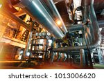 equipment  cables and piping as ... | Shutterstock . vector #1013006620