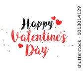 valentine's day vector... | Shutterstock .eps vector #1013014129