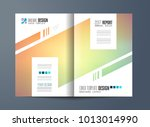 brochure template  flyer design ... | Shutterstock .eps vector #1013014990