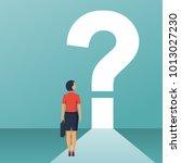 what's next concept. big... | Shutterstock .eps vector #1013027230