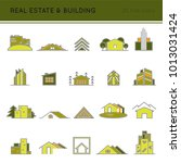 construction thin line icons... | Shutterstock .eps vector #1013031424