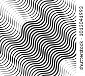abstract vector seamless op art ... | Shutterstock .eps vector #1013041993