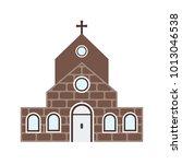 church building ii | Shutterstock .eps vector #1013046538