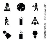tournament icons. set of 9... | Shutterstock .eps vector #1013062204
