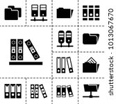 organize icons. set of 13... | Shutterstock .eps vector #1013067670