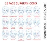 vector illustration  set of 15...   Shutterstock .eps vector #1013077909