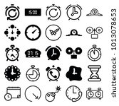 countdown icons. set of 25...   Shutterstock .eps vector #1013078653
