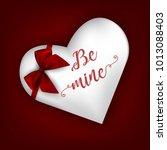 happy valentine's day vector... | Shutterstock .eps vector #1013088403