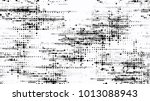 dots and spots of halftone... | Shutterstock .eps vector #1013088943