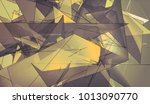 abstract mosaic vintage... | Shutterstock . vector #1013090770