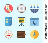 icons about business with... | Shutterstock .eps vector #1013095504