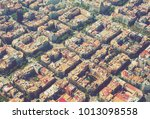 aerial view  of  residence... | Shutterstock . vector #1013098558