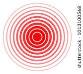 design element many streak.... | Shutterstock .eps vector #1013100568
