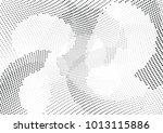 abstract halftone wave dotted... | Shutterstock .eps vector #1013115886