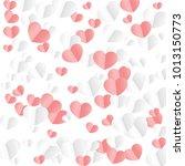 Hearts Random Background. St....