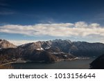 lake in the mountains of... | Shutterstock . vector #1013156644