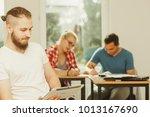 education  high school  digital ... | Shutterstock . vector #1013167690