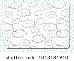 coloring book. a4 horizontal... | Shutterstock .eps vector #1013181910