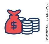 sack dollar cash