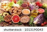 diet food concept | Shutterstock . vector #1013190043