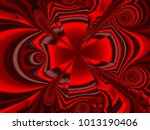 abstract fractal background... | Shutterstock . vector #1013190406