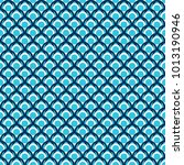 folk seamless color pattern... | Shutterstock . vector #1013190946